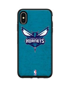 Charlotte Hornets Distressed-Aqua Otterbox Symmetry iPhone Skin