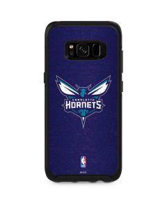 Charlotte Hornets Distressed-Purple Otterbox Symmetry Galaxy Skin