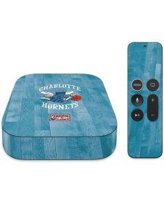Charlotte Hornets Hardwood Classics Apple TV Skin