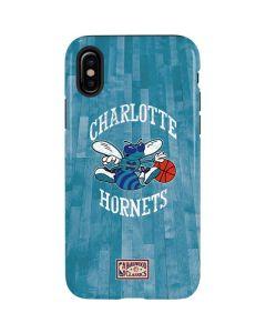 Charlotte Hornets Hardwood Classics iPhone XS Pro Case
