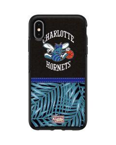 Charlotte Hornets Retro Palms Otterbox Symmetry iPhone Skin