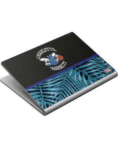 Charlotte Hornets Retro Palms Surface Book Skin