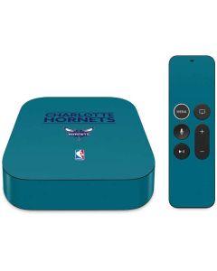 Charlotte Hornets Standard - Blue Apple TV Skin