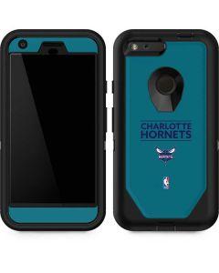 Charlotte Hornets Standard - Blue Otterbox Defender Pixel Skin