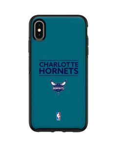 Charlotte Hornets Standard - Blue Otterbox Symmetry iPhone Skin