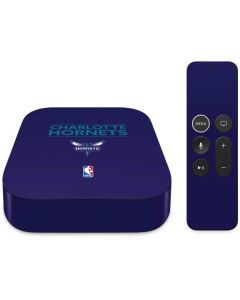 Charlotte Hornets Standard - Purple Apple TV Skin