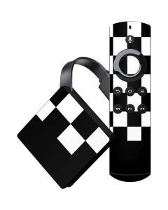 Checkerboard Split Amazon Fire TV Skin