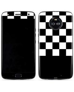 Checkerboard Split Moto X4 Skin