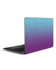 Cheetah Print Purple and Blue Zenbook UX305FA 13.3in Skin