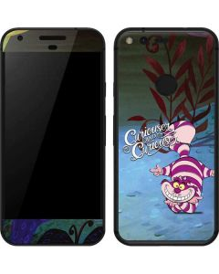 Cheshire Cat Curiouser Google Pixel Skin