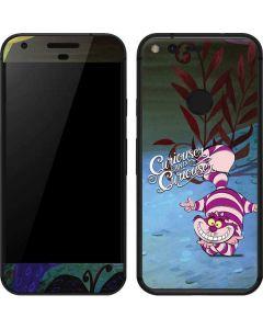 Cheshire Cat Curiouser Google Pixel Skin