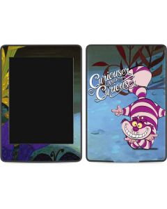 Cheshire Cat Curiouser Amazon Kindle Skin
