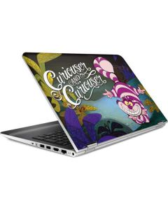 Cheshire Cat Curiouser HP Pavilion Skin