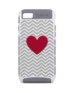 Chevron Heart iPhone 8 Cargo Case