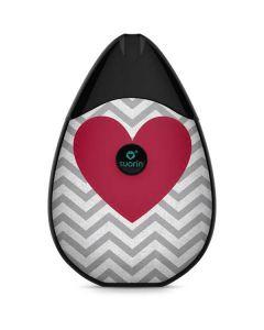 Chevron Heart Suorin Drop Vape Skin