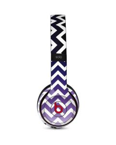 Chevron Purple Ombre Beats Solo 3 Wireless Skin