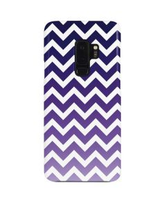 Chevron Purple Ombre Galaxy S9 Plus Lite Case