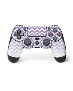 Chevron Purple Ombre PS4 Controller Skin