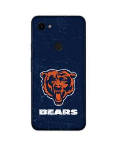 Chicago Bears - Alternate Distressed Google Pixel 3a Skin