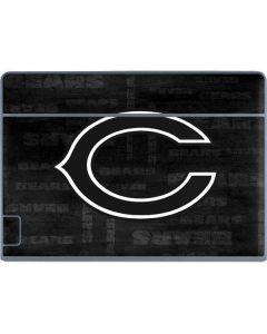 Chicago Bears Black & White Galaxy Book Keyboard Folio 12in Skin
