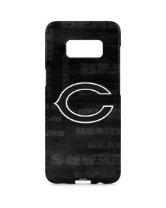 Chicago Bears Black & White Galaxy S8 Plus Lite Case