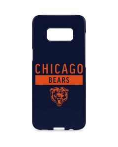 Chicago Bears Blue Performance Series Galaxy S8 Plus Lite Case