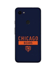 Chicago Bears Blue Performance Series Google Pixel 3a Skin