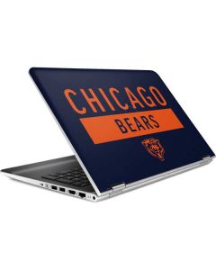 Chicago Bears Blue Performance Series HP Pavilion Skin