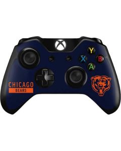 Chicago Bears Blue Performance Series Xbox One Controller Skin