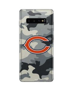 Chicago Bears Camo Galaxy S10 Plus Skin