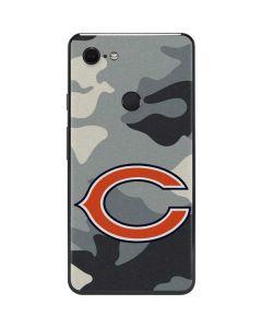 Chicago Bears Camo Google Pixel 3 XL Skin