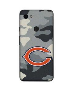 Chicago Bears Camo Google Pixel 3a Skin