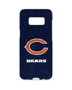 Chicago Bears Distressed Galaxy S8 Plus Lite Case
