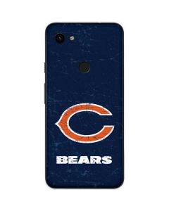 Chicago Bears Distressed Google Pixel 3a Skin