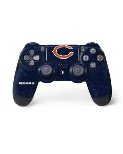 Chicago Bears Distressed PS4 Controller Skin