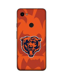 Chicago Bears Double Vision Google Pixel 3a Skin