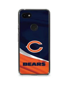 Chicago Bears Google Pixel 3a XL Clear Case