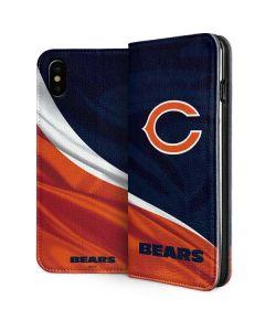 Chicago Bears iPhone XS Folio Case