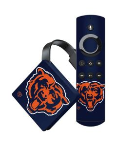 Chicago Bears Large Logo Amazon Fire TV Skin