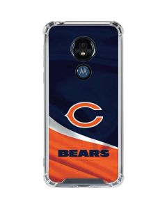 Chicago Bears Moto G7 Power Clear Case