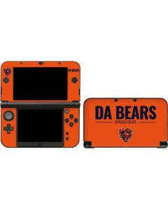 Chicago Bears Team Motto 3DS XL 2015 Skin