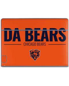 Chicago Bears Team Motto Galaxy Book Keyboard Folio 10.6in Skin