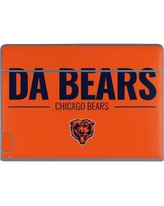 Chicago Bears Team Motto Galaxy Book Keyboard Folio 12in Skin