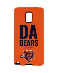Chicago Bears Team Motto Galaxy Note 4 Pro Case