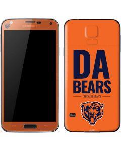 Chicago Bears Team Motto Galaxy S5 Skin