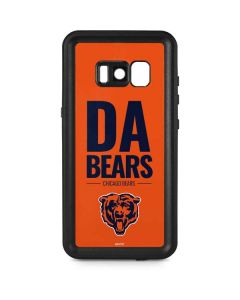 Chicago Bears Team Motto Galaxy S8 Plus Waterproof Case