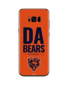 Chicago Bears Team Motto Galaxy S8 Skin