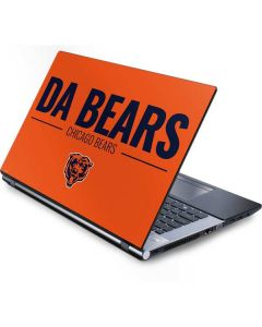Chicago Bears Team Motto Generic Laptop Skin