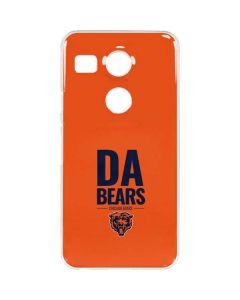 Chicago Bears Team Motto Google Nexus 5X Clear Case