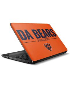 Chicago Bears Team Motto HP Notebook Skin
